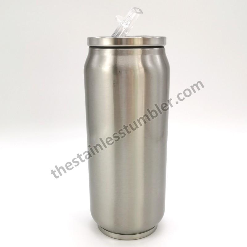 Dubbelväggsvakuumisolerat rostfritt stål 12oz Soda Can Tumbler