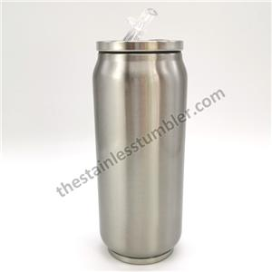 Double Wall Vacuum Insulated Stainless Steel 12oz Soda Can Tumbler