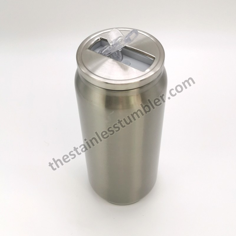 500ml Stainless Steel Double Wall Beverage Soda Can 17oz