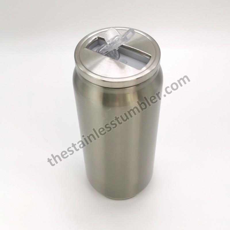 500 ml rostfritt stål med dubbla väggar drycker Soda Can 17oz