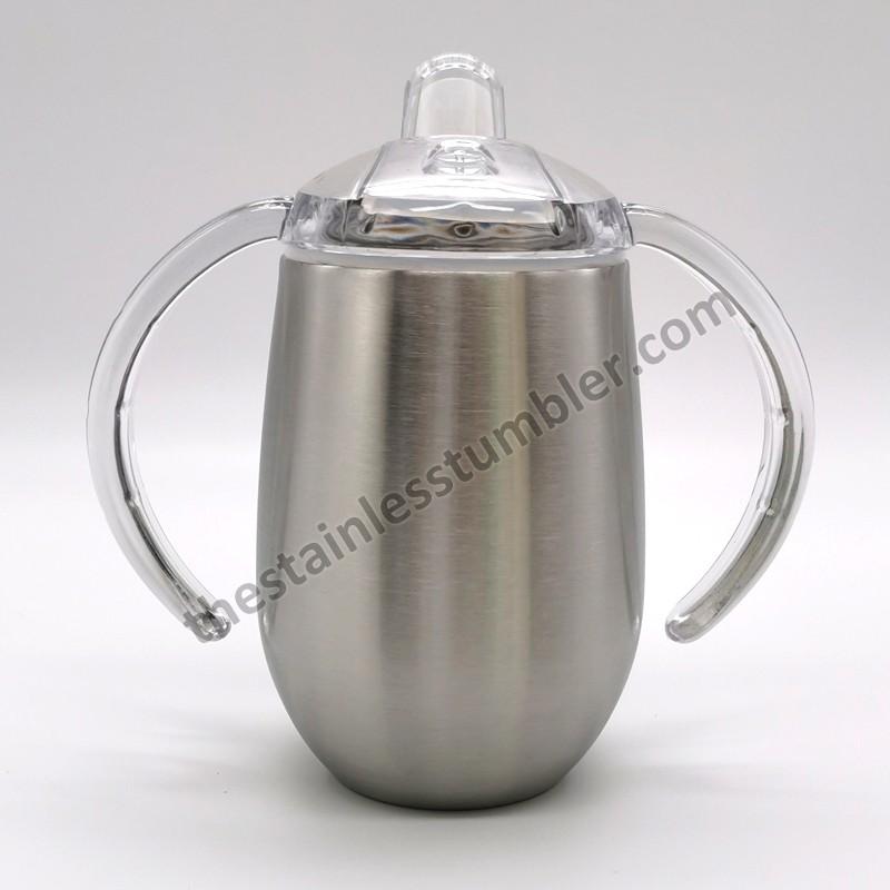9 oz rustfrit stål isoleret Sippy kop vandflaske til børn