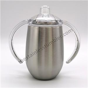 9oz Stainless Steel Insualted Sippy Cup Water Bottle For Kids