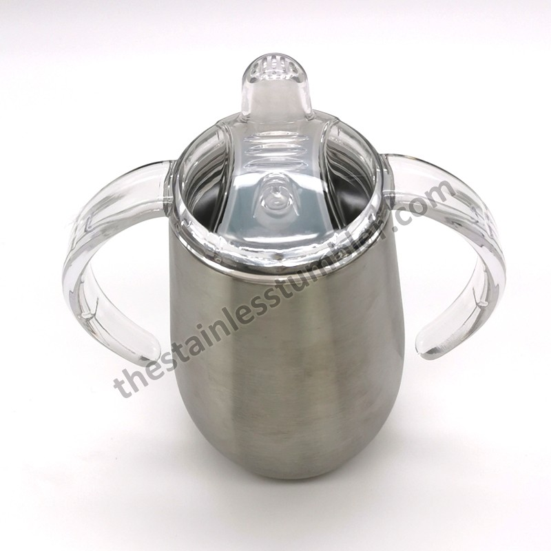 14oz Stainless Steel Trainer Sippy Cup With Handle Manufacturers, 14oz Stainless Steel Trainer Sippy Cup With Handle Factory, Supply 14oz Stainless Steel Trainer Sippy Cup With Handle