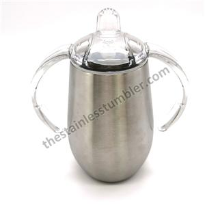 14oz Stainless Steel Trainer Sippy Cup With Handle