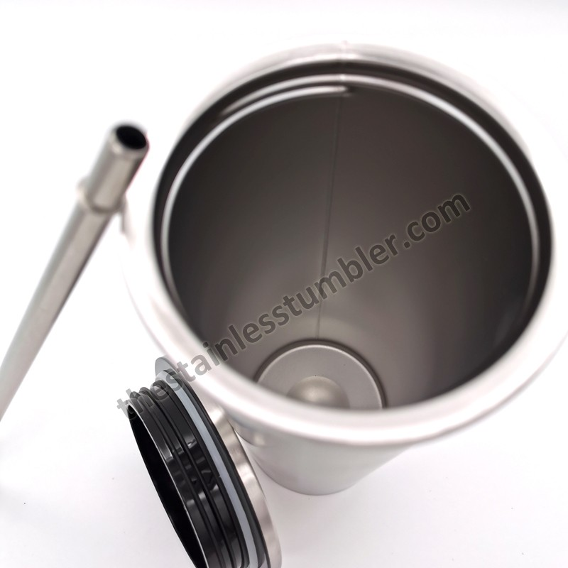 24oz Stainless Steel Straight Tapered Tumbler With Screw Lid And Straw Manufacturers, 24oz Stainless Steel Straight Tapered Tumbler With Screw Lid And Straw Factory, Supply 24oz Stainless Steel Straight Tapered Tumbler With Screw Lid And Straw