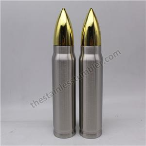 17oz bullet shape bottle vacuum insulated tumbler rocket keep warm cups travel water bottle 304 stainless steel