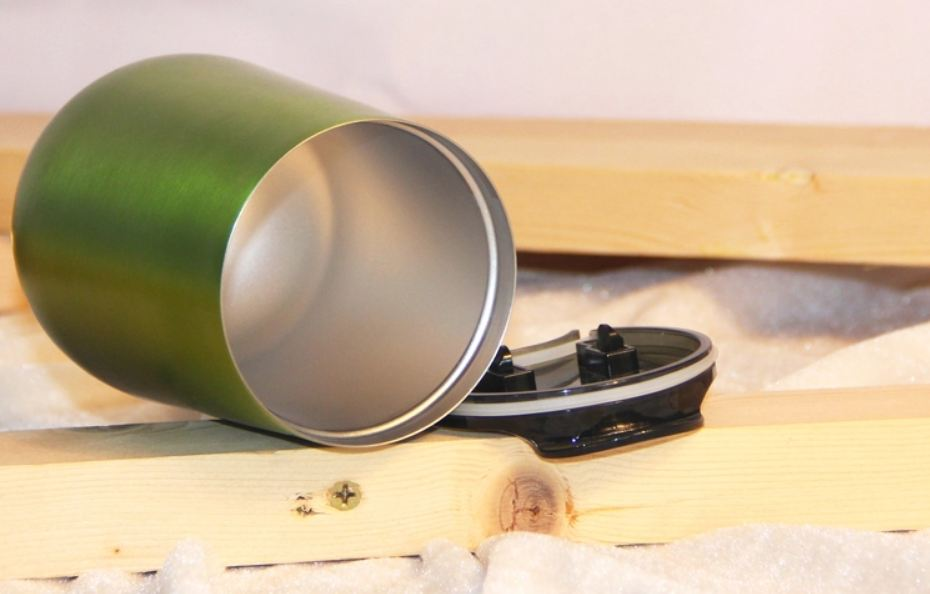 Vacuum Insulated wineglass
