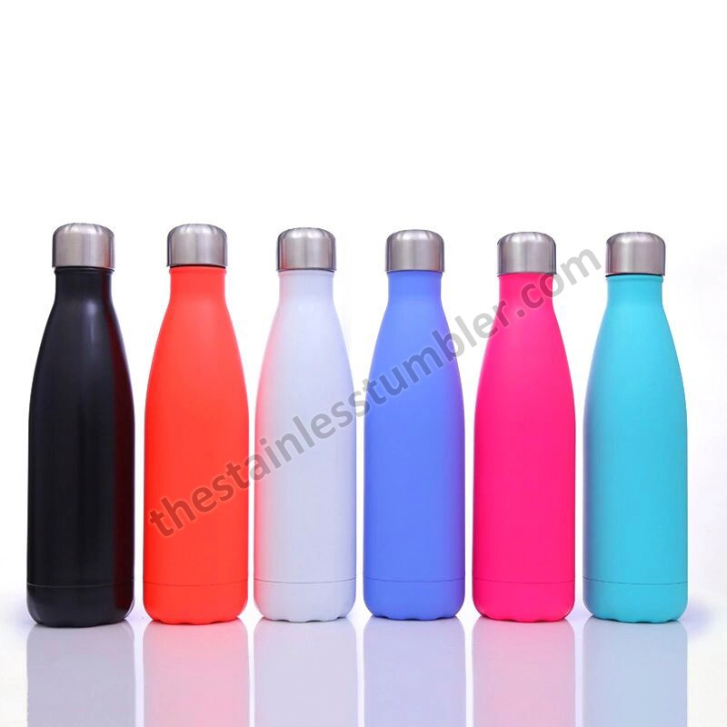 17oz Custom logo colourful Cola Shape Stainless Steel Water Bottle Manufacturers, 17oz Custom logo colourful Cola Shape Stainless Steel Water Bottle Factory, Supply 17oz Custom logo colourful Cola Shape Stainless Steel Water Bottle