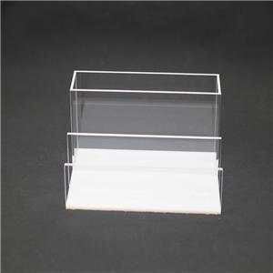 Fichier acrylique Dossier Bureau d'accueil Organisateur