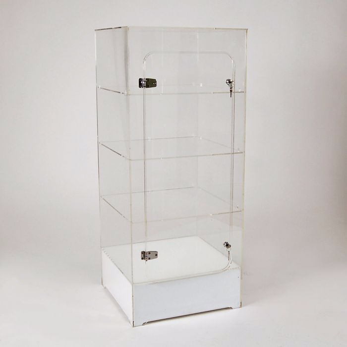 Clear Acrylic Display Case Cabinet Floor-standing