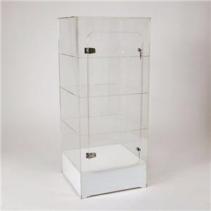 Effacer acrylique Vitrine Cabinet Au sol