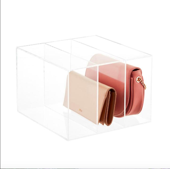 acrylic purse organizer
