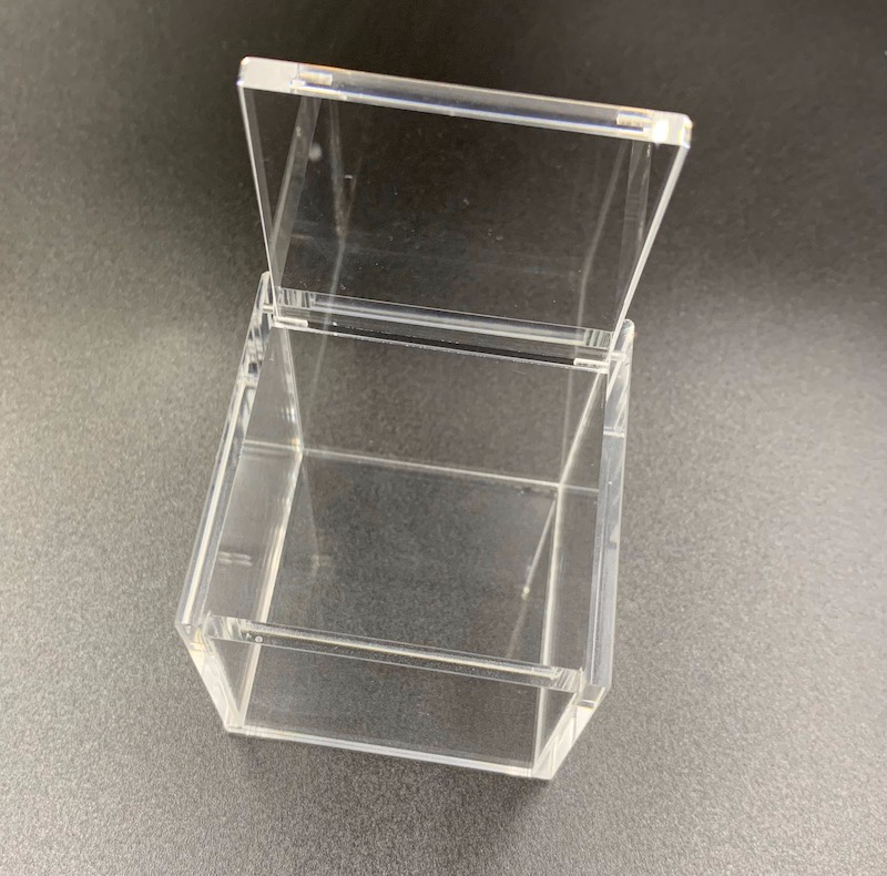 Small Square Acrylic Ring Box With Lid Manufacturers, Small Square Acrylic Ring Box With Lid Factory, Supply Small Square Acrylic Ring Box With Lid