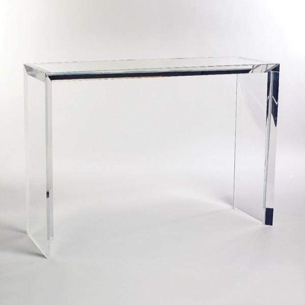 Große Mirrored Acryl Konsolentisch