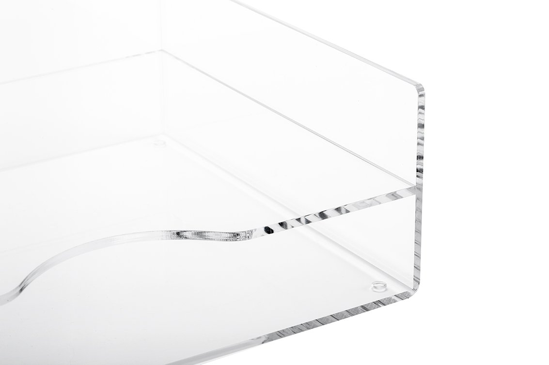 acrylic document tray