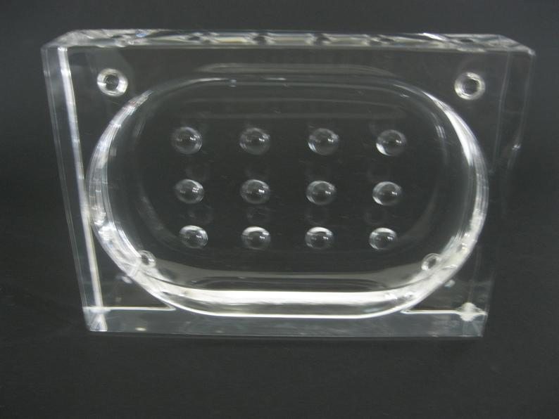 acrylic soap dish holder