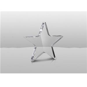 Clear Acrylic Award Plaques Trophy With Engraving