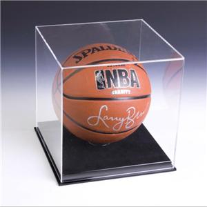 12X12 Acrylic Basketball Display Case With Lock