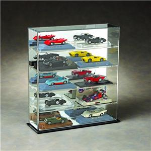 UV Protected Acrylic 1/18 Scale Car Display Case Wall Cabinet