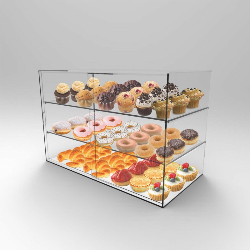 Acrylic Pastry Cookie Cake Display Case