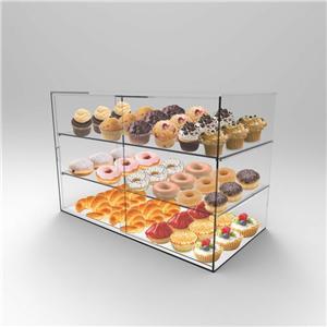 Acrylique Pâtisserie Biscuit Gâteau vitrine