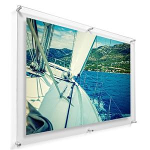 A1 Floating Acrylic Wall Art Gallery Frame