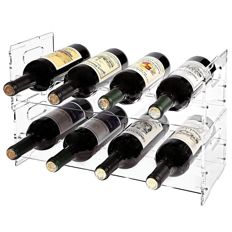 Counter Acrylic Wine Display Holder