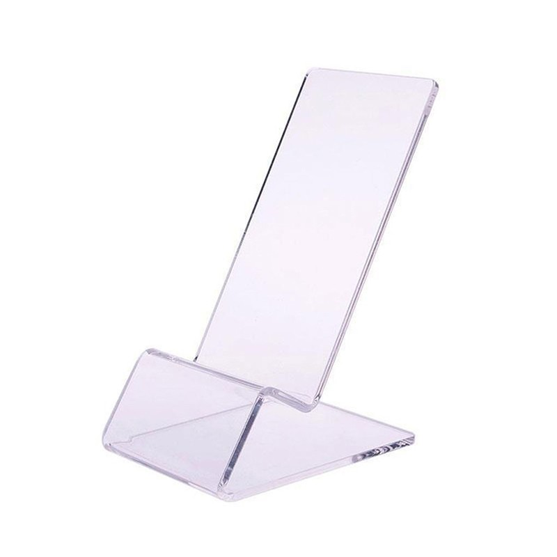 Clear Acrylic Mobile Cell Phone Display Stand Holder