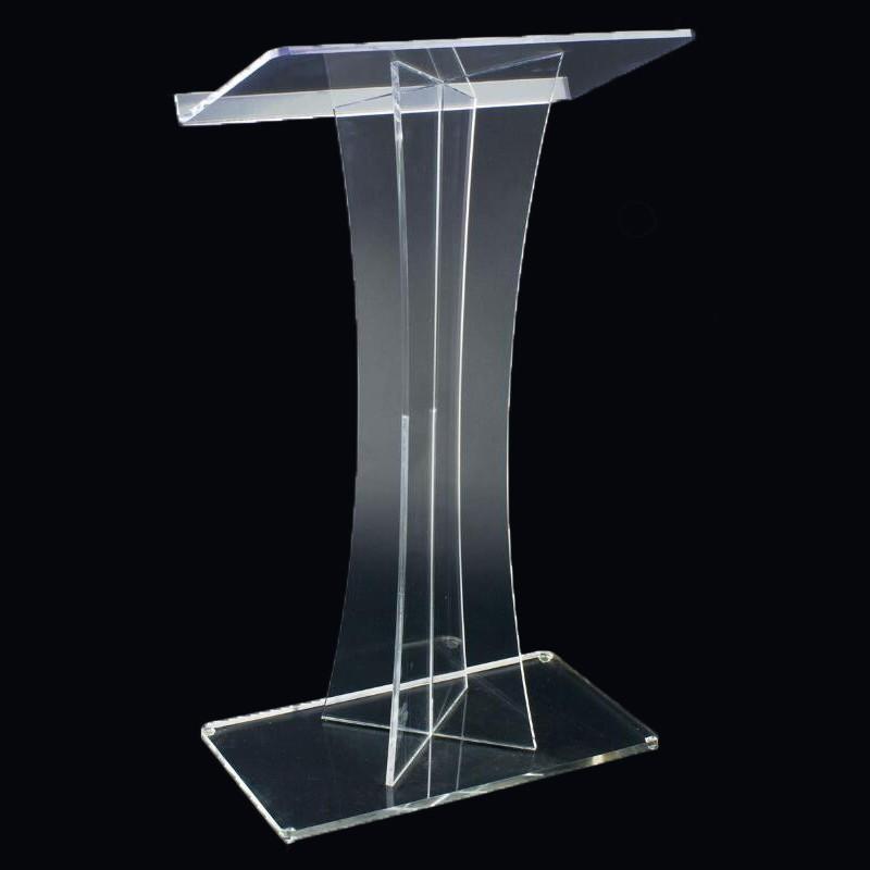 Plexiglas Podium Rednerpult Rednerpult