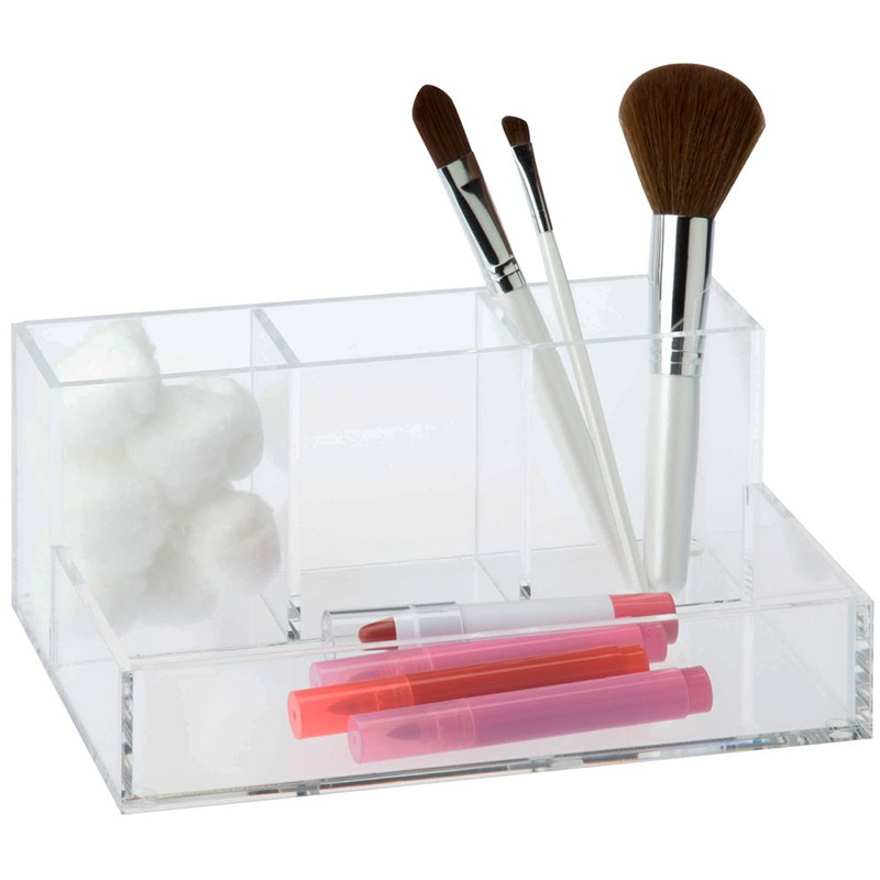 Acrylic Makeup Eyeshadow Holder Display Stand