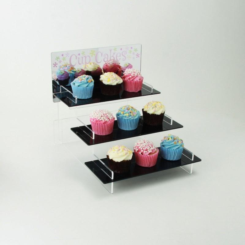 Acrylic Cupcake Display Stand Acrylic Tiered Stand