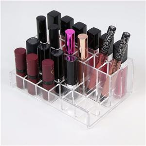 24 Spaces Aufsatz- Acryl Makeup Lipgloss Organizer