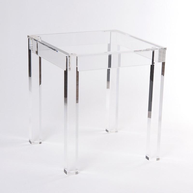 Acryl Möbel Esstisch Beine