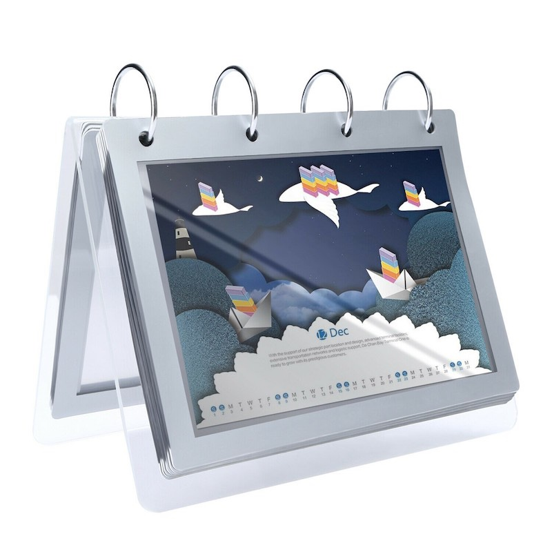 Plexiglas Kalender Dispplay Ständer
