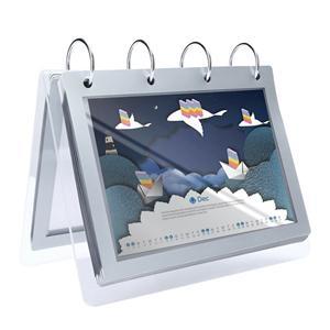 Clear Acrylic Calendar Dispplay Stand