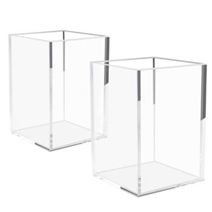 Clear Acrylic Pen Holder Stand