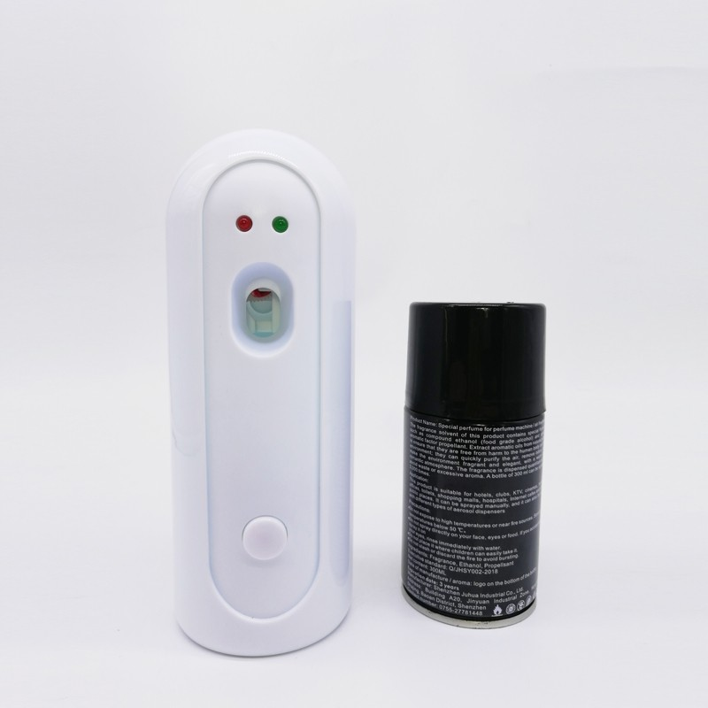Bathroom Wall Mounted Automatic Timed Air Freshener Spray Scent Dispenser