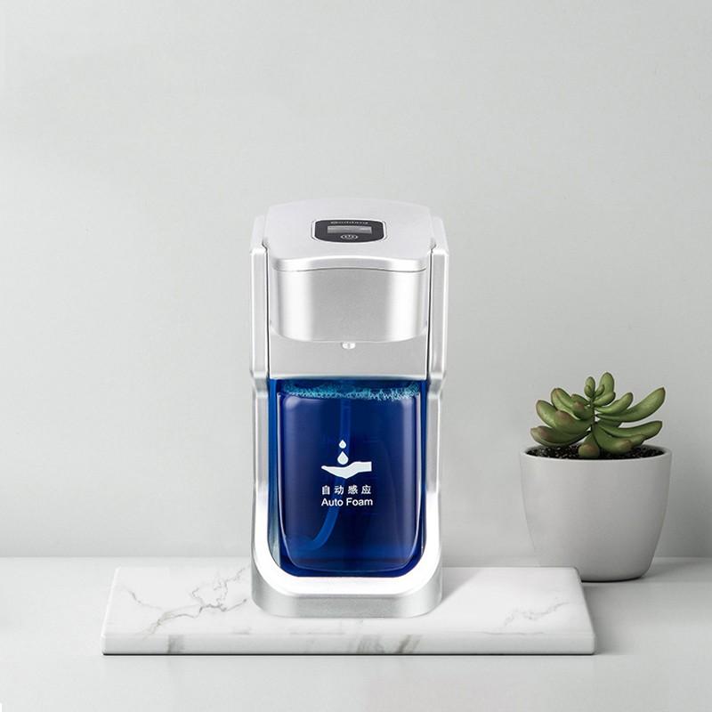 Sin contacto de la mano libre encimera desinfectante Jabón Dispensadores de Espuma 500ml de baño Cocina