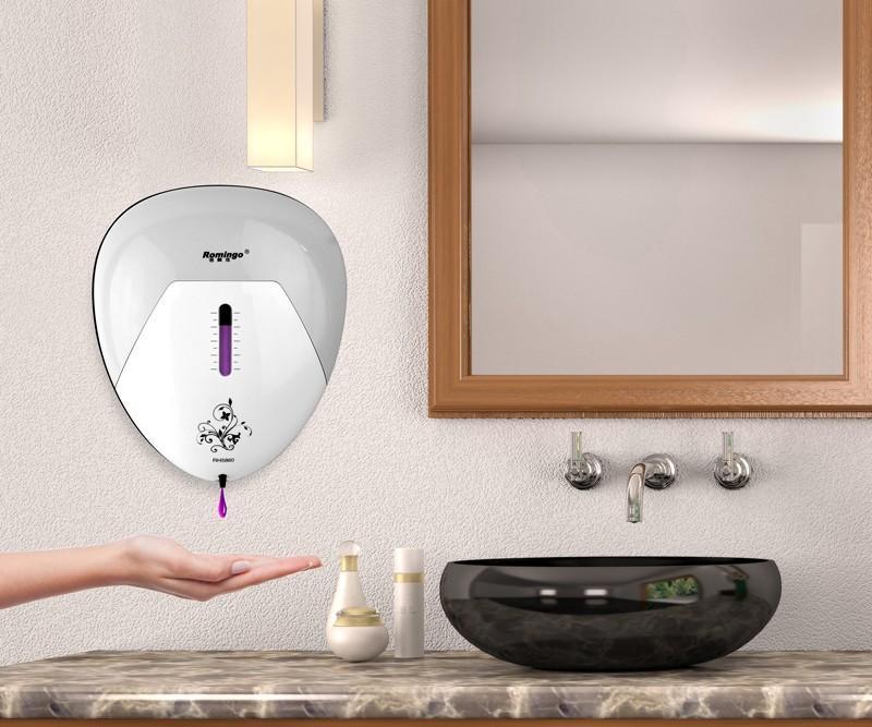 Gel désinfectant liquide commercial savon désinfectant pour les mains à l'alcool fabricant de distributeur de savon automatique