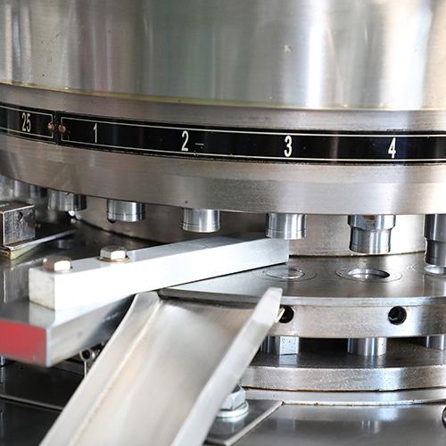 prensa de tabletas granulares