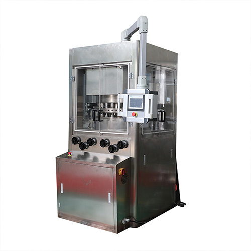 Powder tableting machine