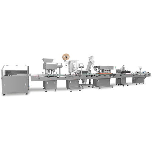 Integrated Capsules Automatic Packing Line