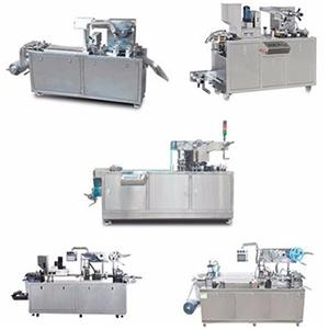 ALU / PVC μηχανή συσκευασίας blister