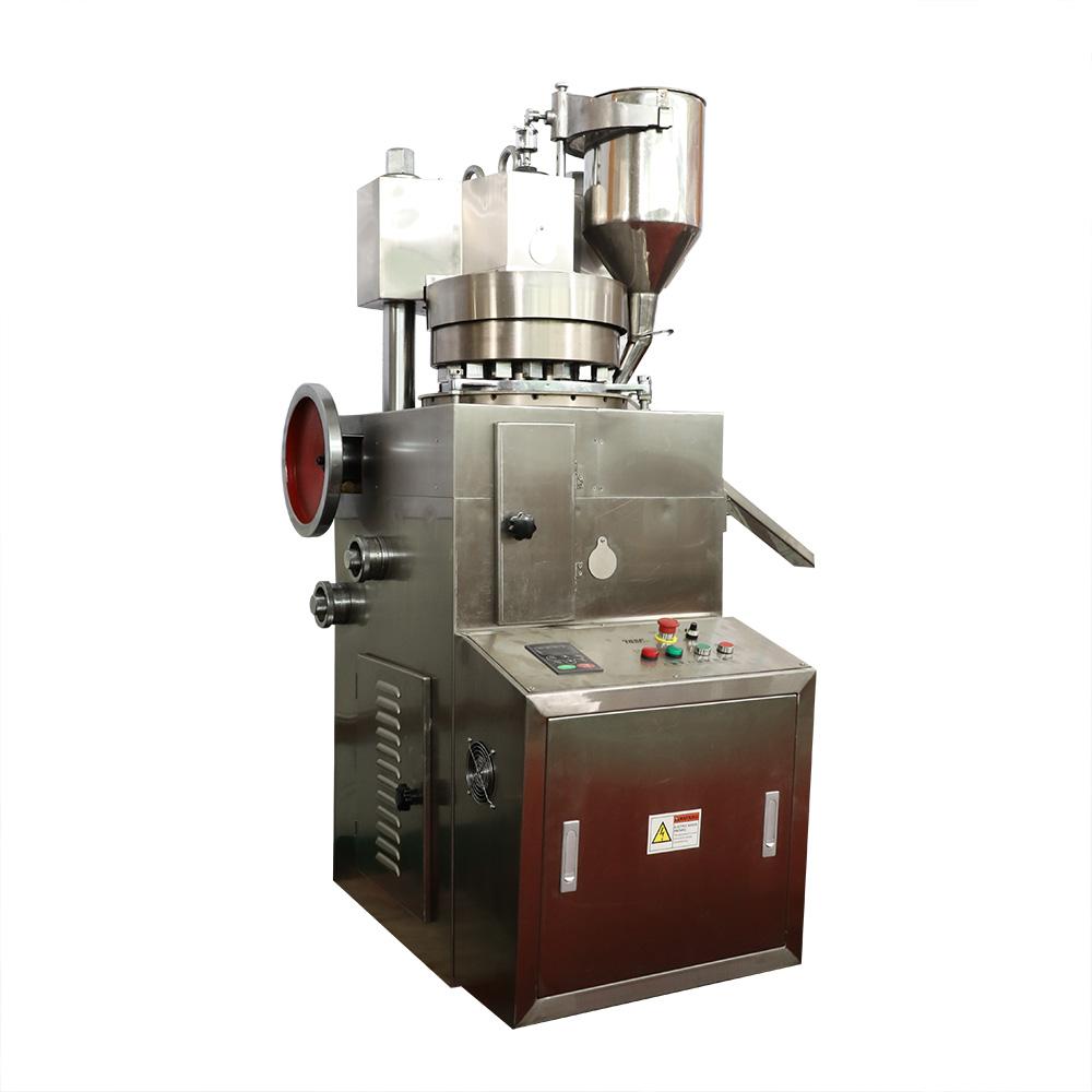 Bamboo salt tableting machine