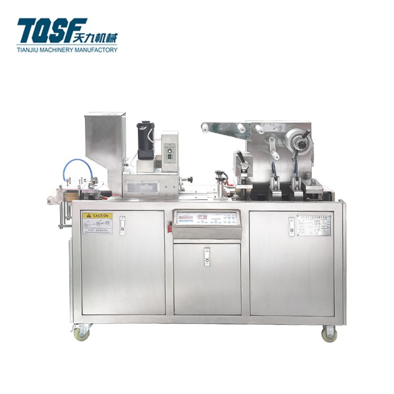 High Speed Liquid Sauce Olive Oil Blister Packing Machine