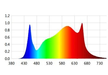 LED Grow Light Spectrum for Flower Stage