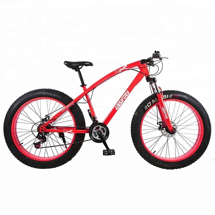 Bicicleta de aluminio Drake Snow de 26 pulgadas y 24 velocidades para neumáticos de grasa
