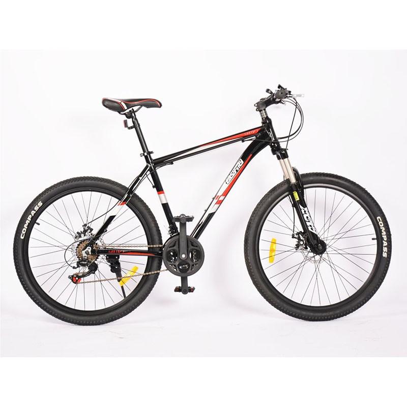 Bicicleta de montaña de acero de alto carbono de 18 velocidades