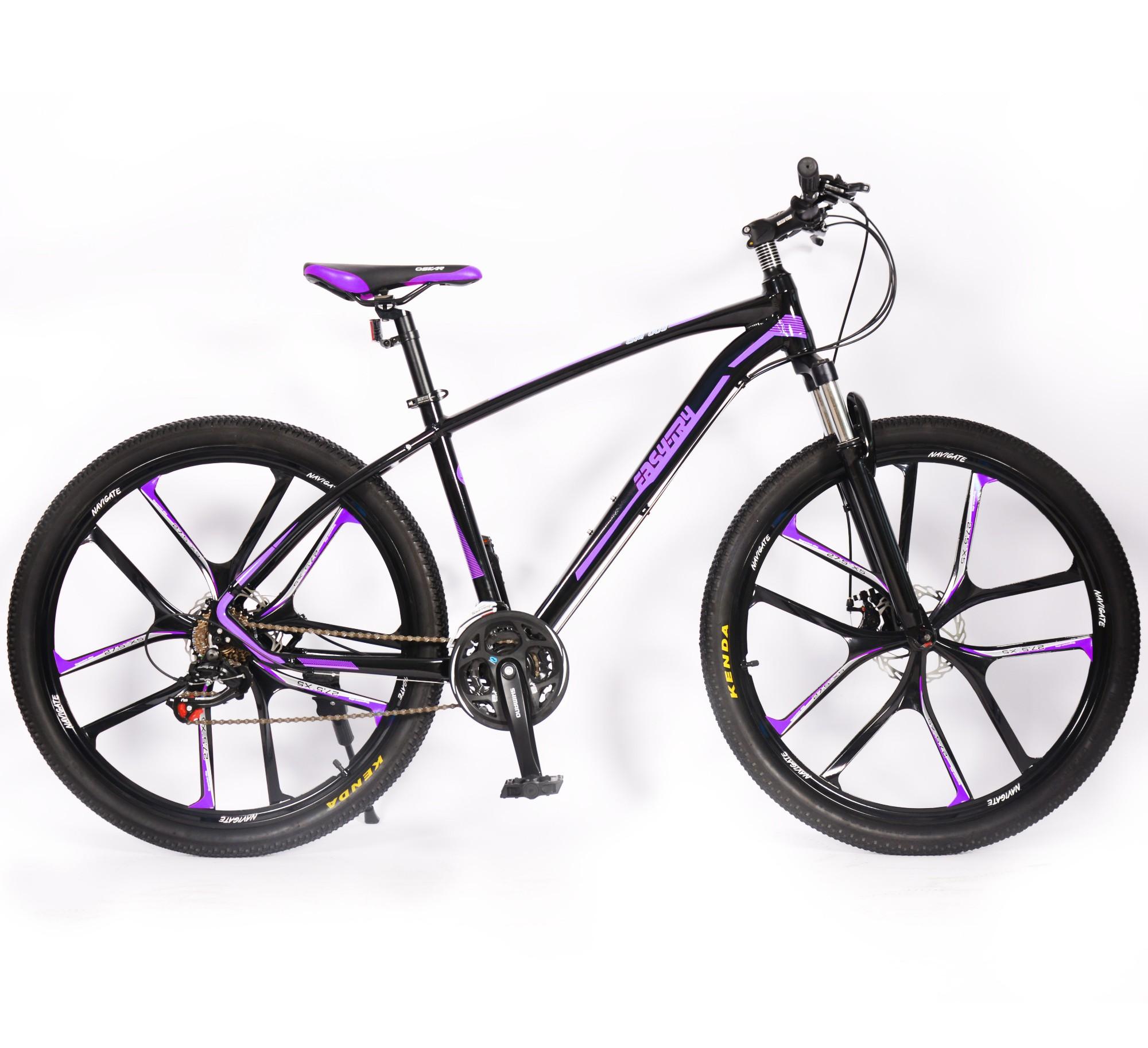 Bicicleta de montaña con borde de aleación de aluminio de 27.5er y 16 velocidades