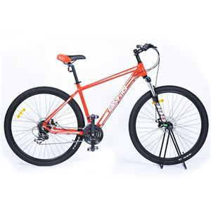 Orange Alloy Frame Mechanical Brakes Mountain Bike